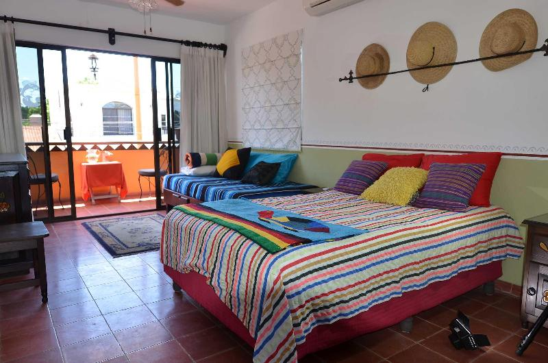 Casita bedroom