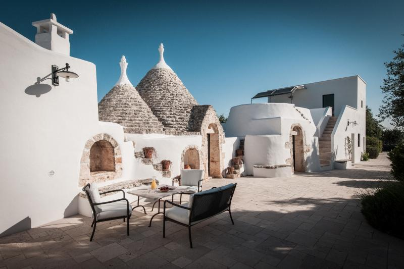 Trullo Sessana Grande, Puglia. Home to the creators of the'Ostuni' restaurant in London