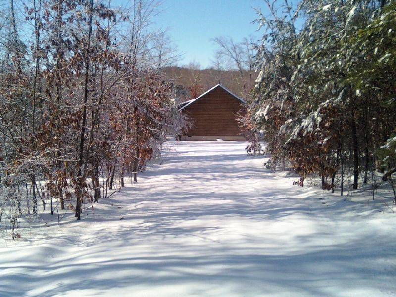 Driveway after Snow