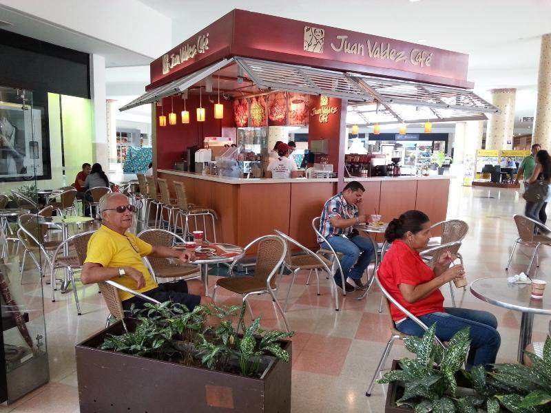 Juan Valdez in Bueana Vista Mall
