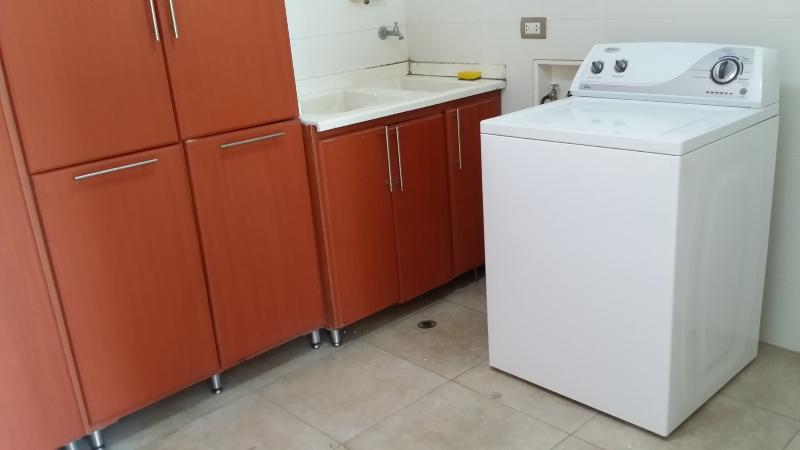 Washer in Laundry Room
