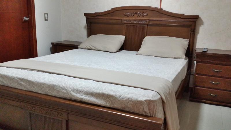 Queen Bed in Bedroom # 1
