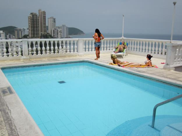 Swimming Pool on Roof of Excalibur