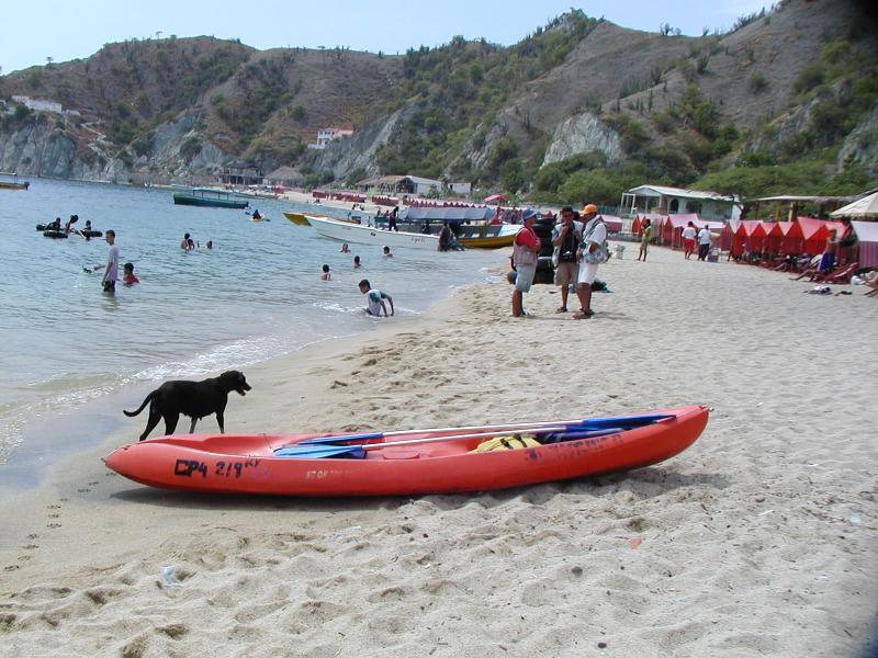 Playa Blanca near El Rodadero