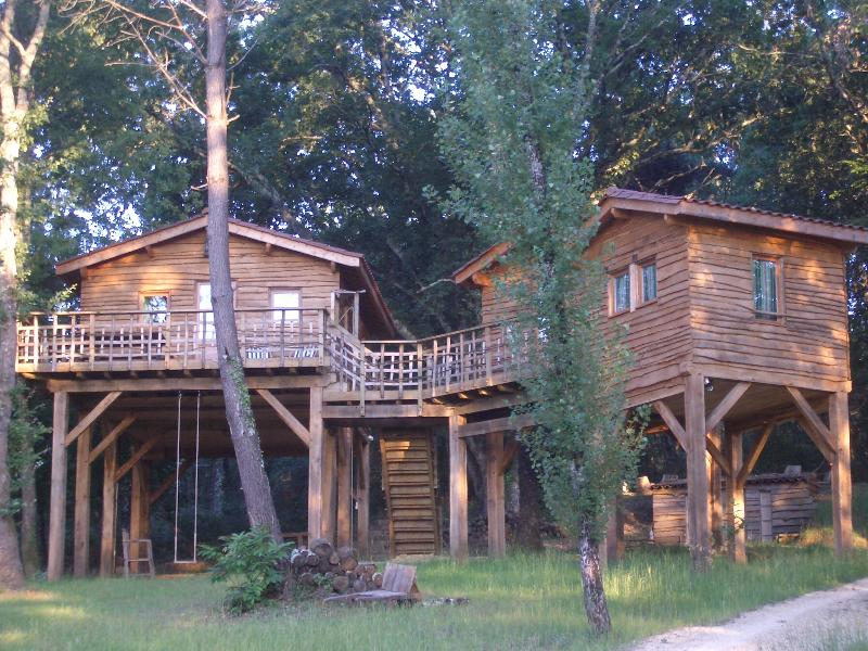 Les Cabanes du Tertre 1, holiday rental in Bouillac