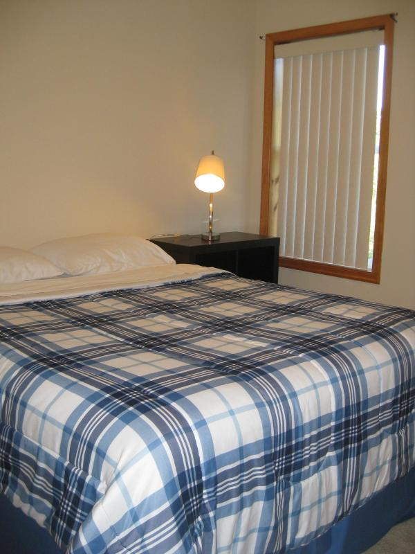 Similar size Bedroom with new queen bed