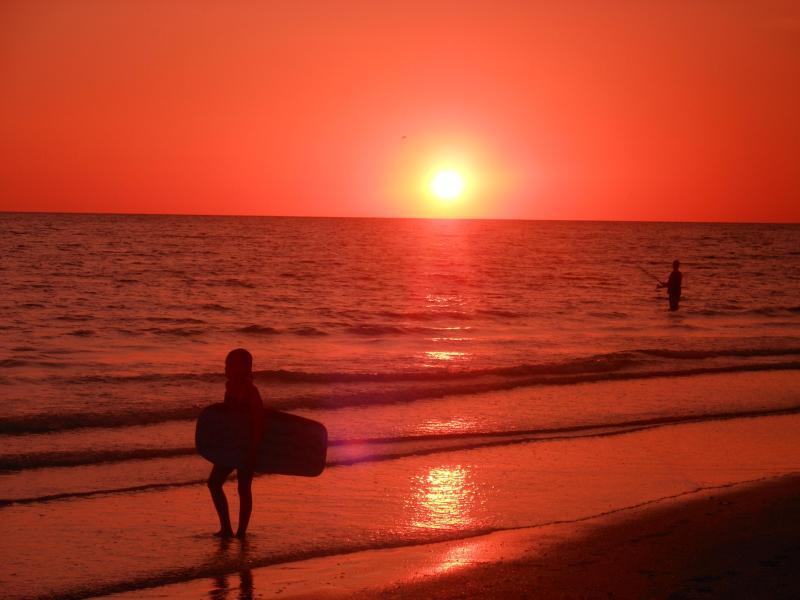 Increíbles puestas de sol