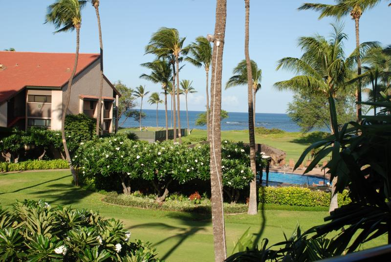 Fabulous Oceanfront/Ocean view condo! Free Wifi, A/C,Pool,Parking, Private Lanai, holiday rental in Kihei