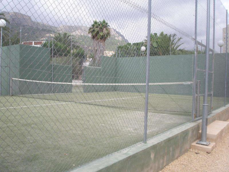 tennis or paddle court