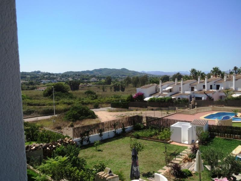 Inland view from the apartment