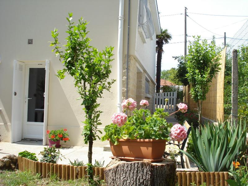 Terrace and private garden