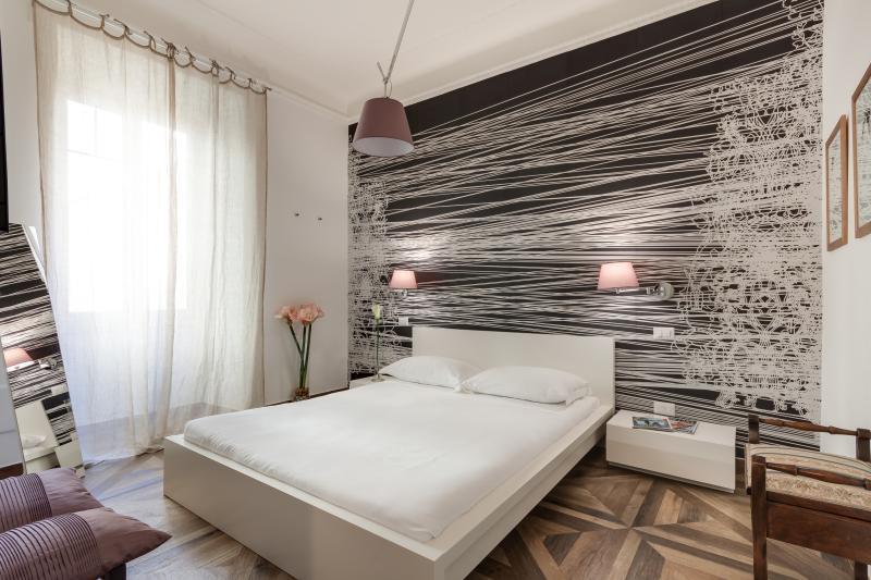 The elegant bedroom, AC, design furniture, TV lcd
