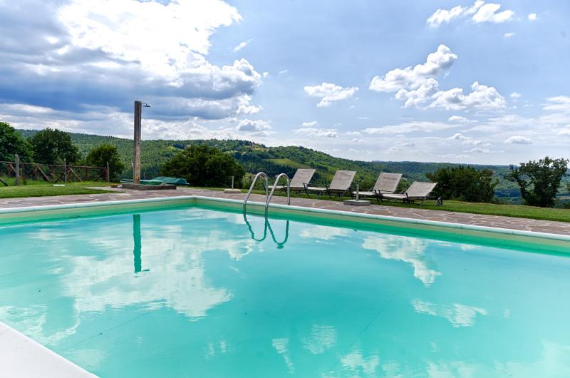 Sangiovese country house with pool in Chianti area, holiday rental in Tavarnelle Val di Pesa