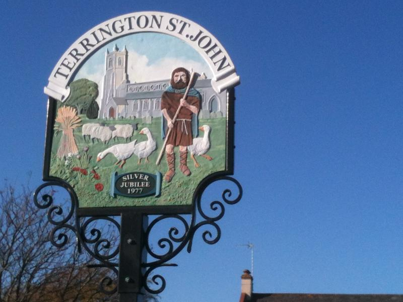 Situated in the village of Terrington St John