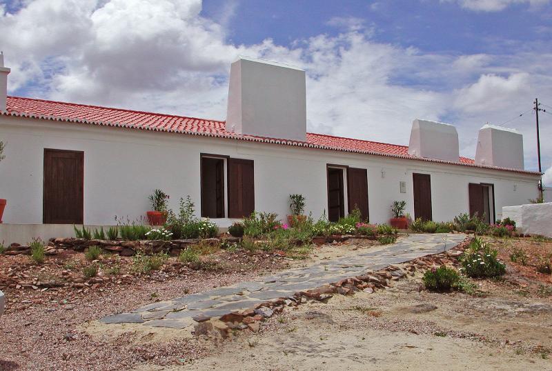 House front facade