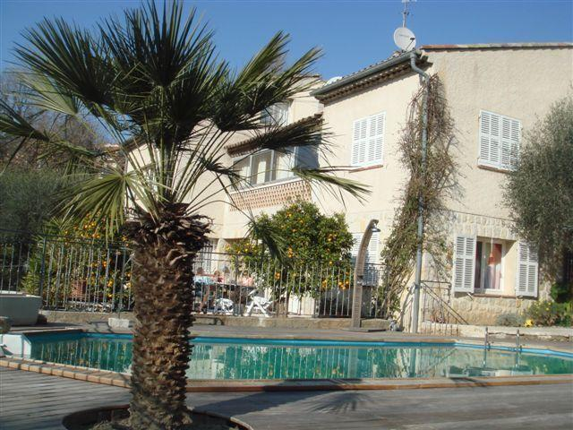 Charming studio in villa with pool, quiet - 4, location de vacances à Vence