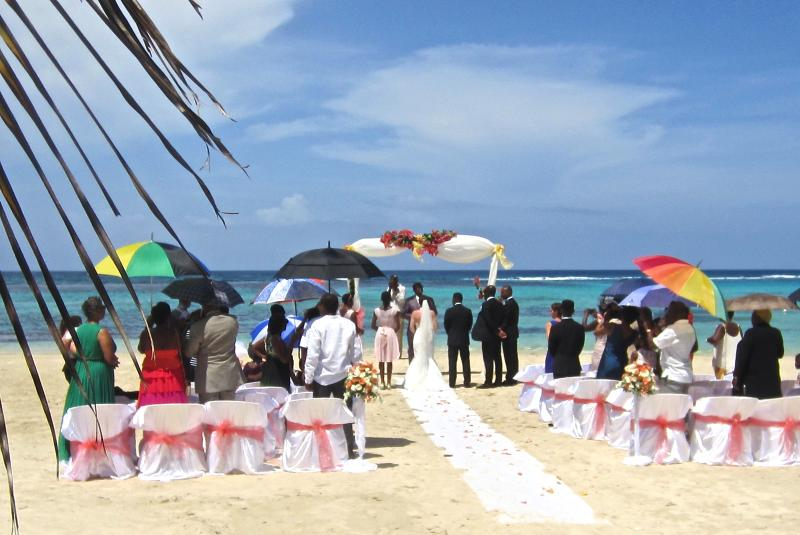 Get married on Mammee Bay Estate's private beach