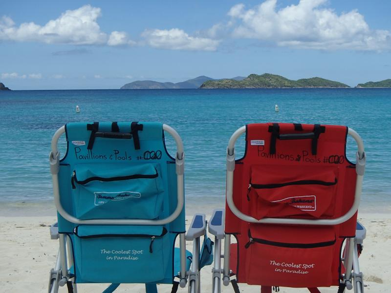 Beach chairs included...the only thing missing is you!