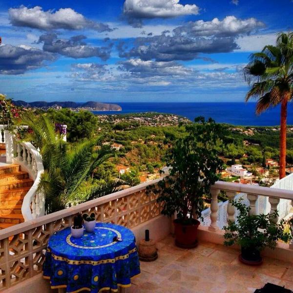 Apartamento con vistas panorámica al mar, location de vacances à Calpe