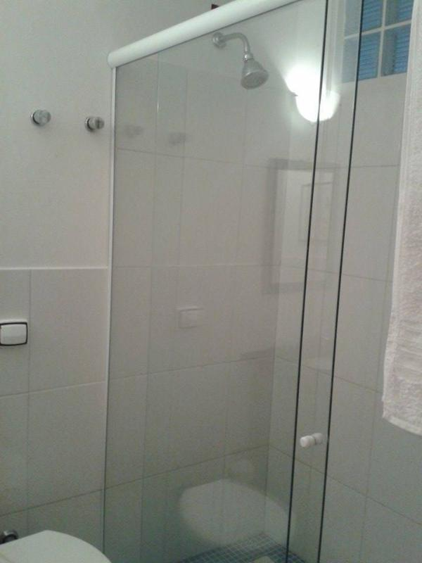 Large shower stall.
