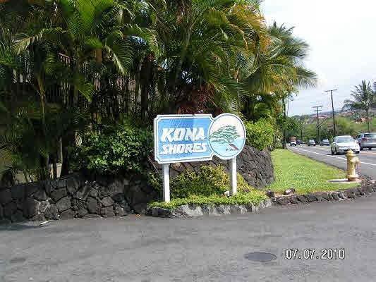 Kona Shore Entrance