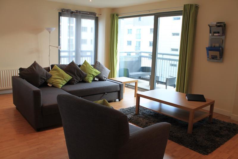 living area - balcony view