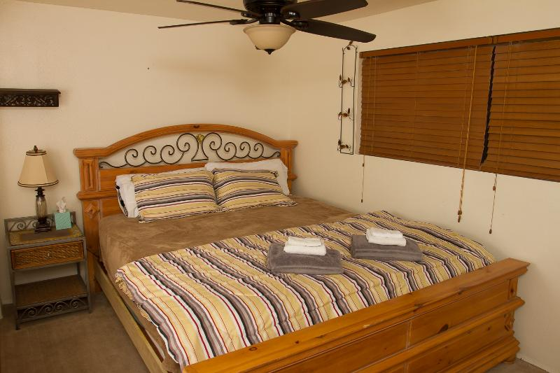 King Size Bed - 1 of 3 bedrooms
