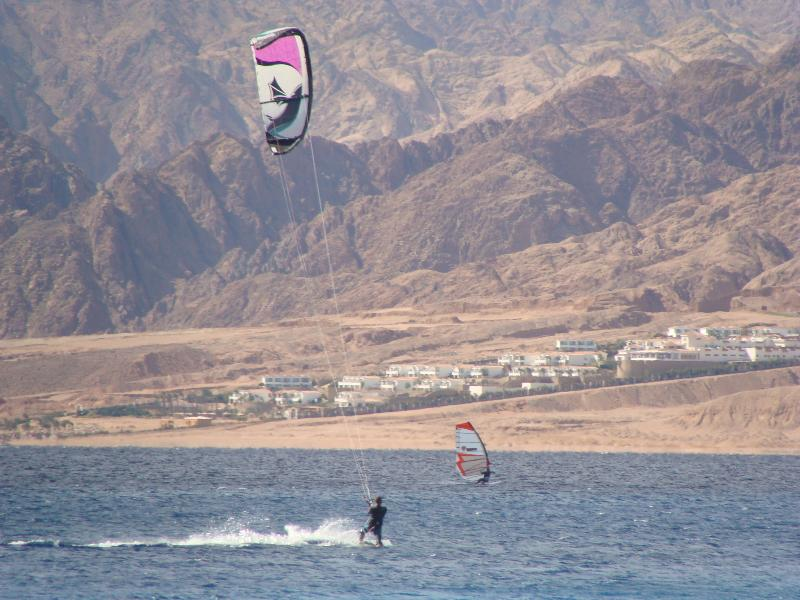 Just10 minutes to be in the lagoon  you can do kite and surf