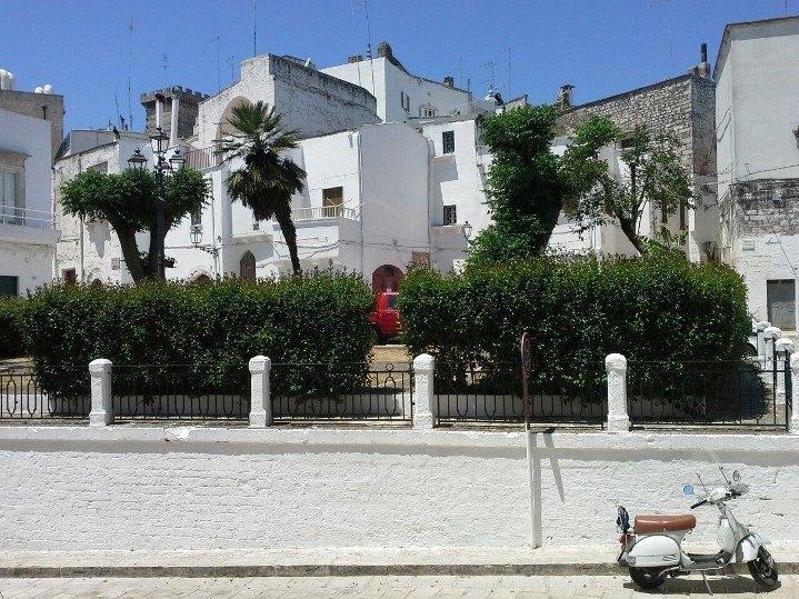 Casa indipendente bianca sita in Puglia, holiday rental in Ceglie Messapico
