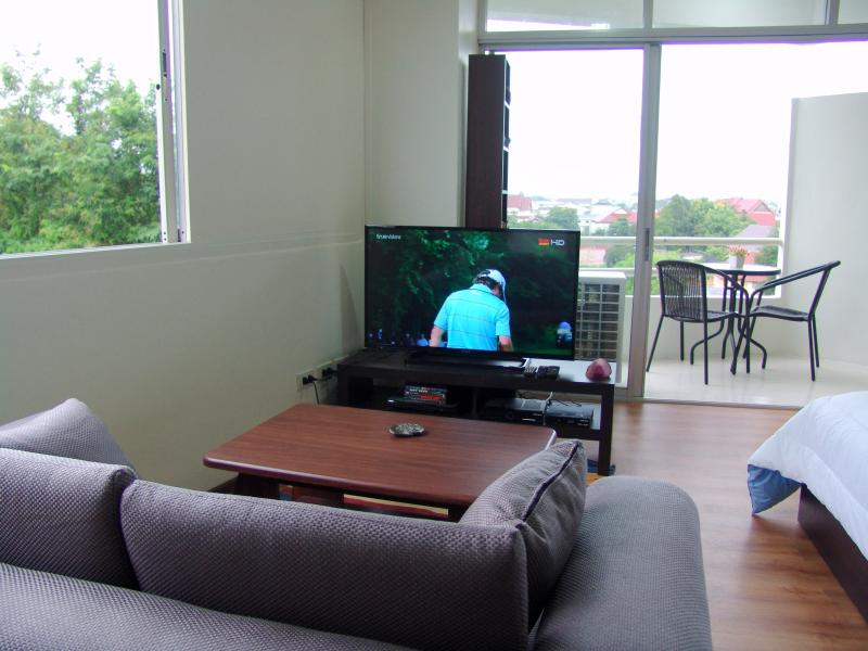 40' HD TV with DVD and 200 Ch Satalite
