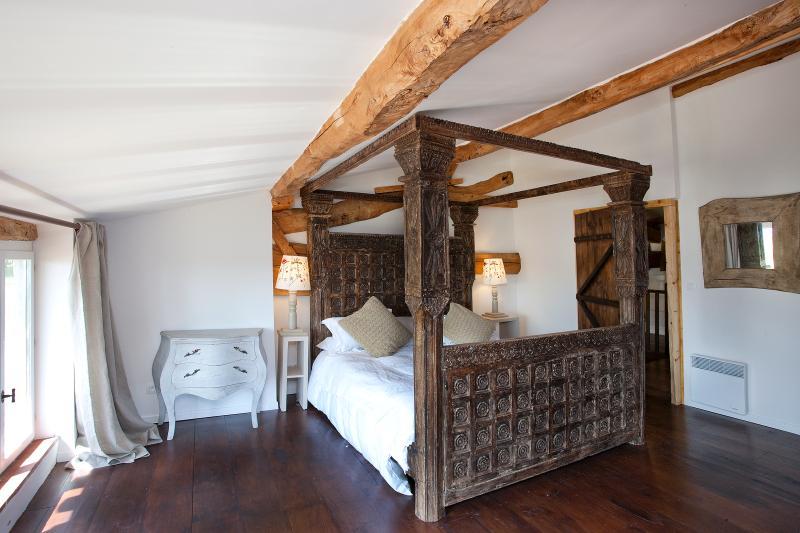 Mutley gite, main bedroom