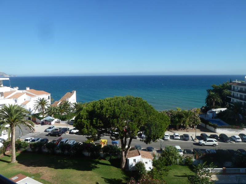 View from apartment, Carabeillo Beach in front