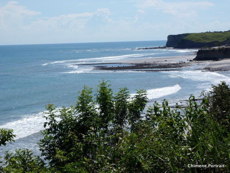 View of three surf breaks