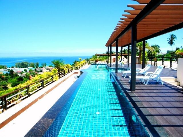 Superb Sea Views apartment!, holiday rental in Ban Khok Chang