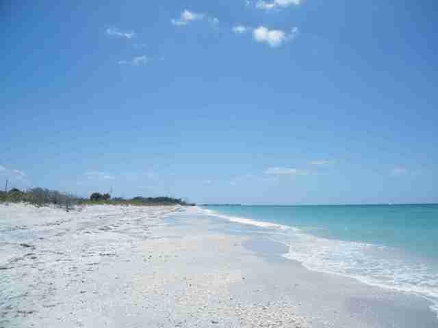 One of the many beautiful gulf coast beaches nearby