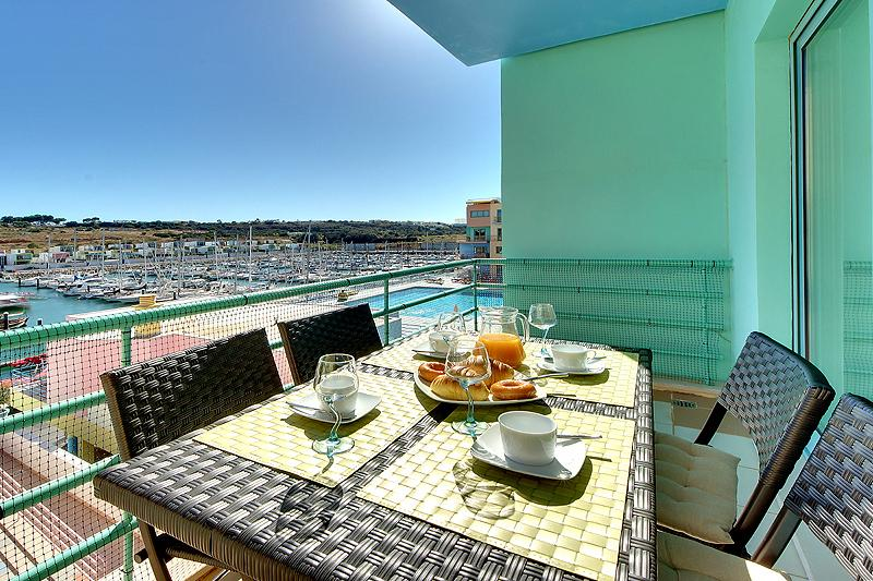 Balcony with unique view
