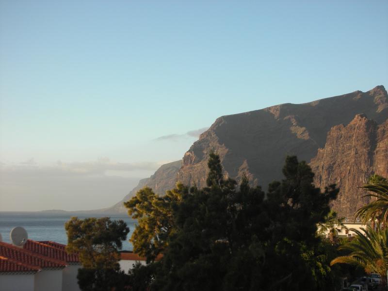 vue des falaises géantes de la terrasse
