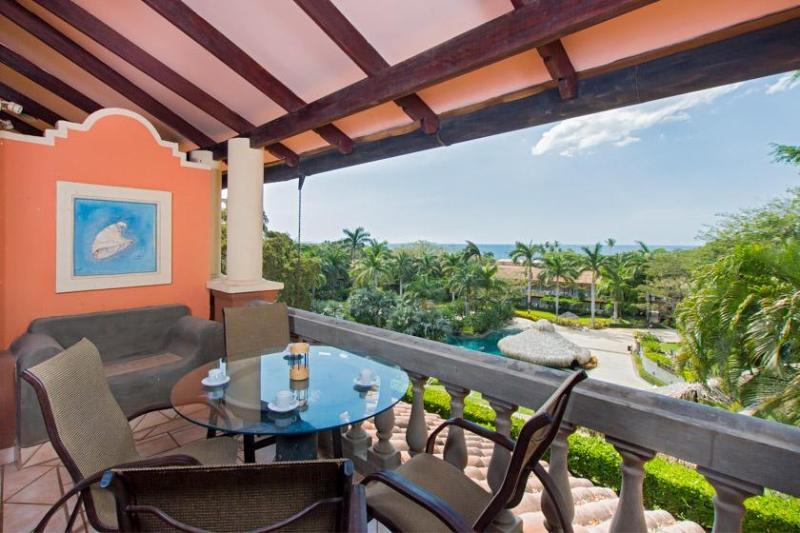 Balcón privado con vistas
