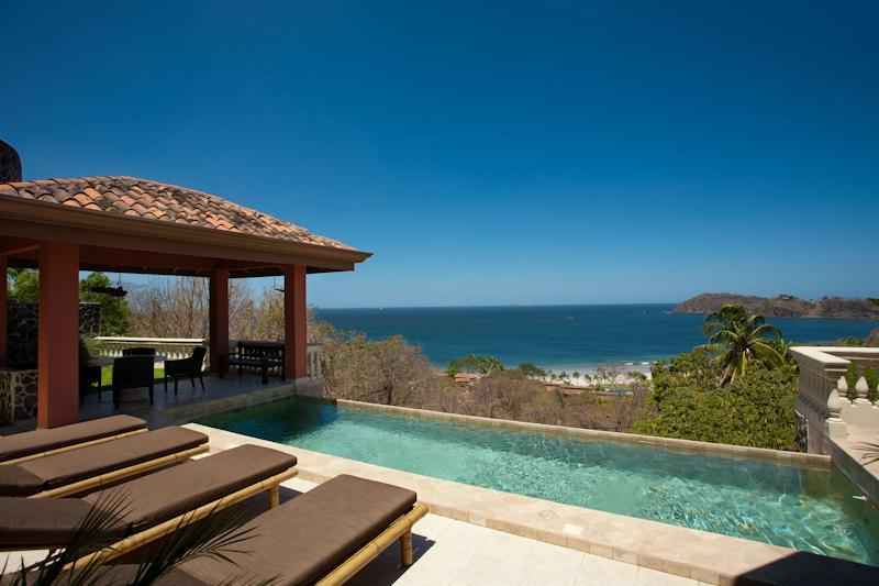 Private infinity edge pool