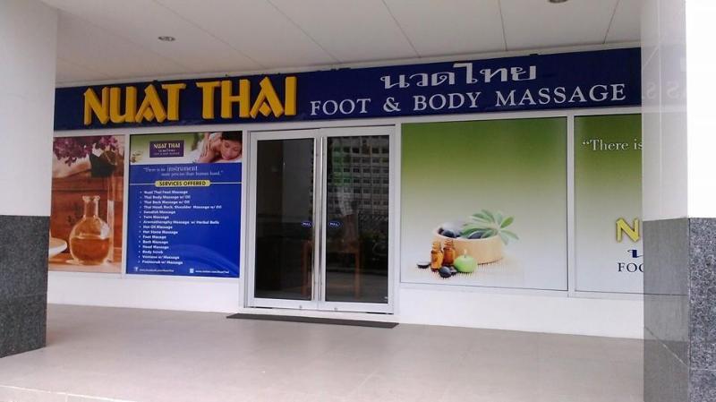 24-hour Thai massage on ground floor