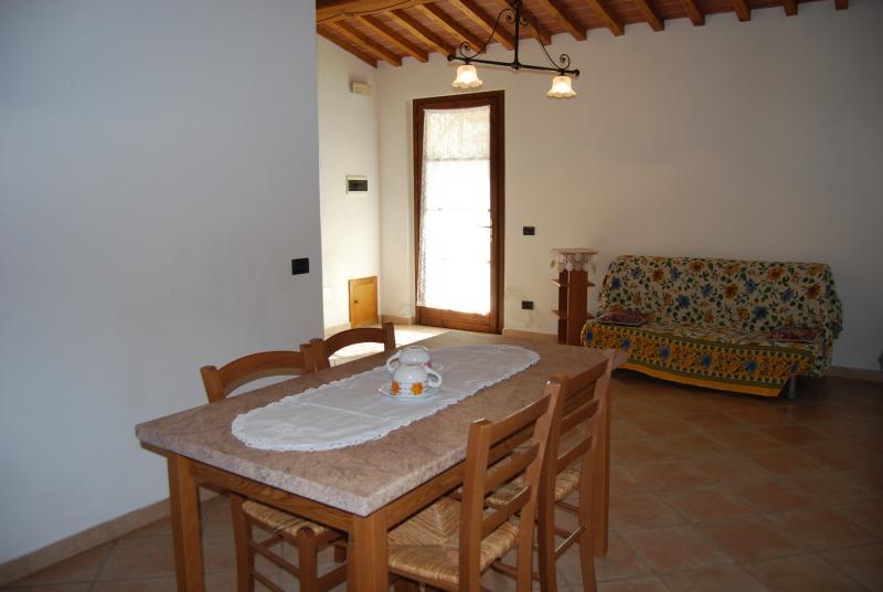 Agriturismo Sant'Anna app. La Carraia, holiday rental in Montegemoli