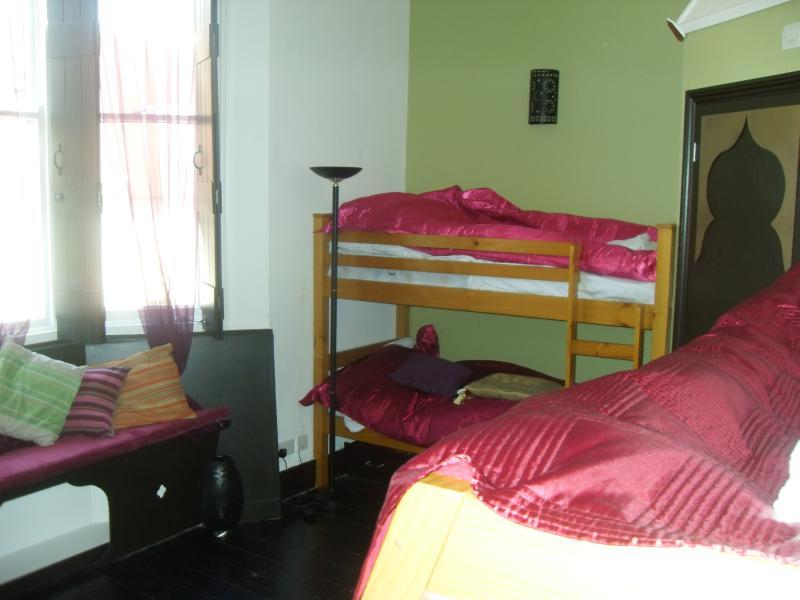 First Floor front bedroom sleeps 7