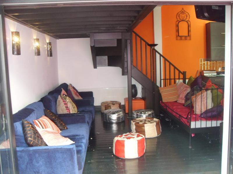 Riad style lounge