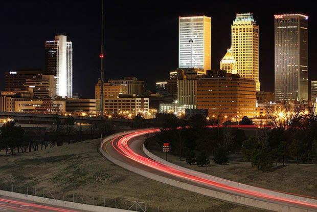 Downtown Tulsa is just 6 minutes away.