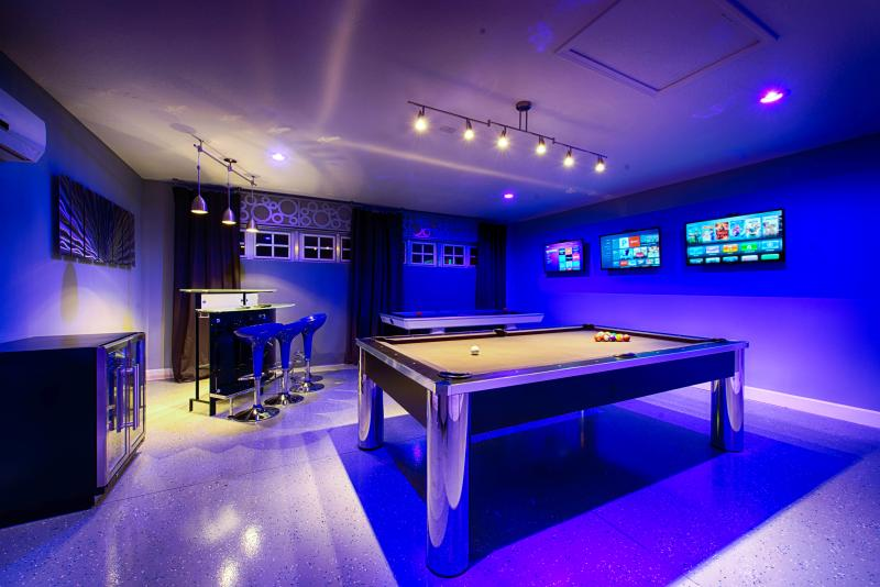 Games Room at Night