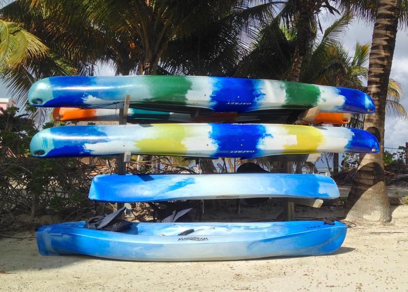 We have kayaks!