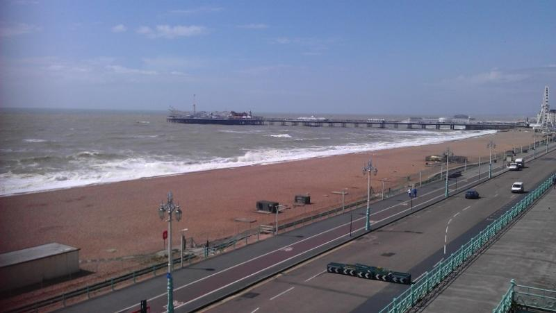Taken from end of road pier approx 600 metres