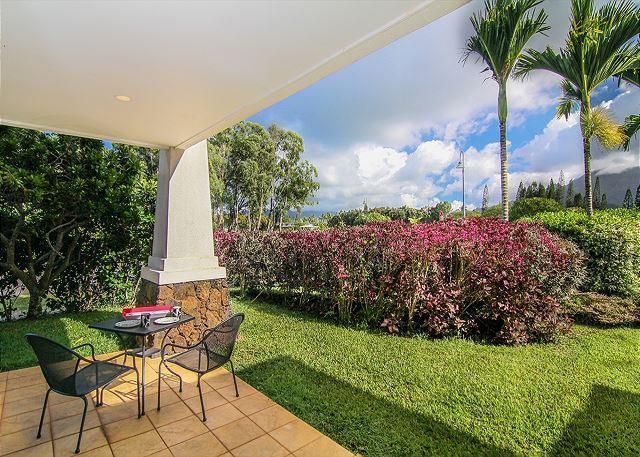 Ground Floor Condo with Privacy Garden & Mountain Views!, holiday rental in Kauai