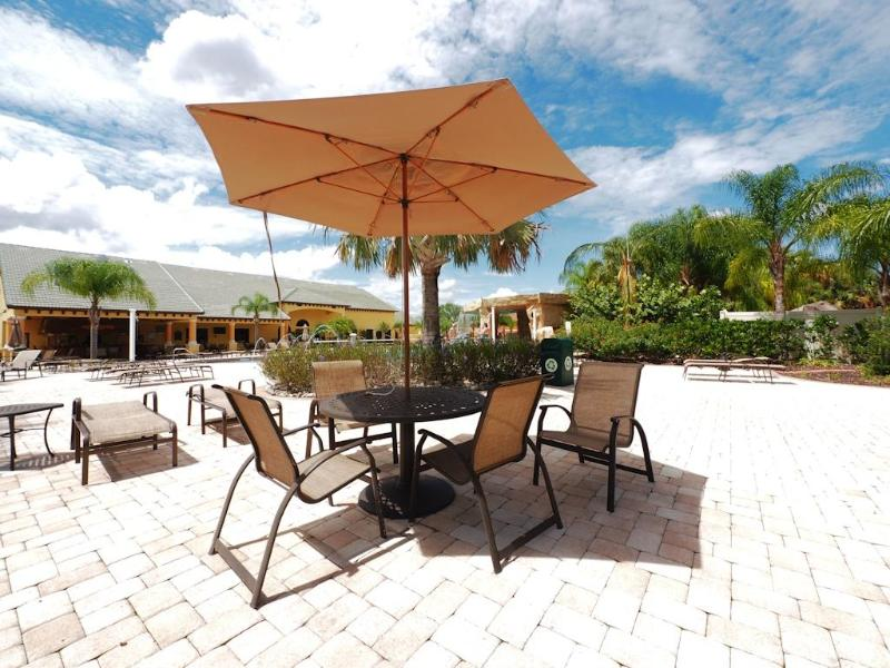Paradise Palms Resort Community Pool Area