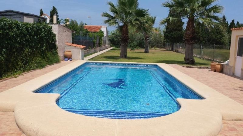 Relax by the lovely private pool…ideal for adults and safe for children.